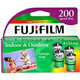 Fujifilm Superia CA-200 Speed 96 Exposure 35mm Film (4 Pack)