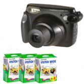 Fujifilm Instax 210 Instant Photo Camera Kit with 60 Prints Instax Wide Film