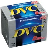 Panasonic Mini DV 60 Mini DVM60 Digital Video Cassette Tape 5 Pack